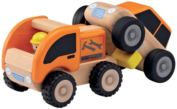Camion dépanneuse en bois - Wonderworld
