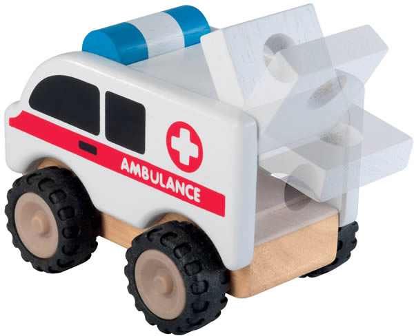 Ambulance en bois - Wonderworld