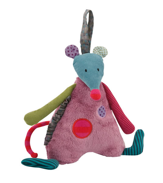peluche musicale souris moulin roty