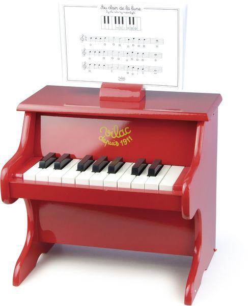 Piano en bois massif  - 18 touches - Vilac
