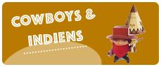 cadeau enfant theme cowboy indien