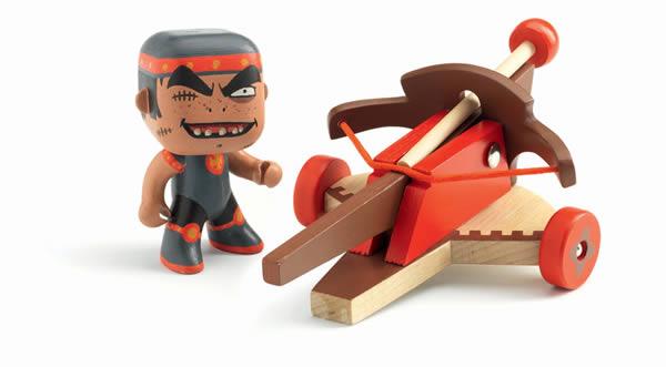 Figurine chevalier Arty Toys Klute & Ze arbalete - Djeco