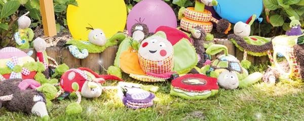 jouet éveil funky garden