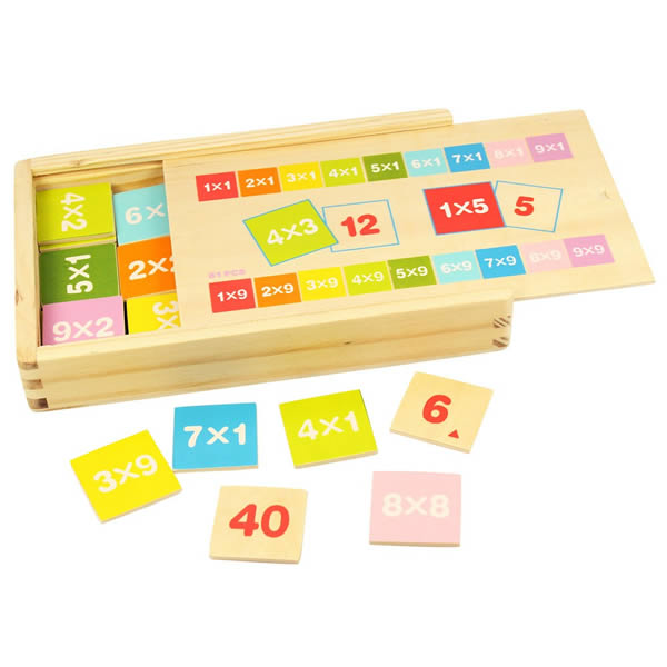 Boite de table de multiplication - Bigjigs
