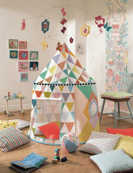 Cabane multicolore Djeco
