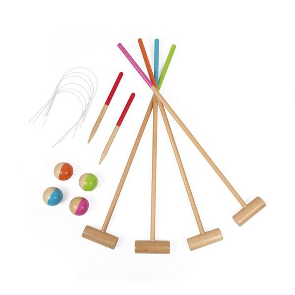 les jeux de croquet pour enfants. Black Bedroom Furniture Sets. Home Design Ideas