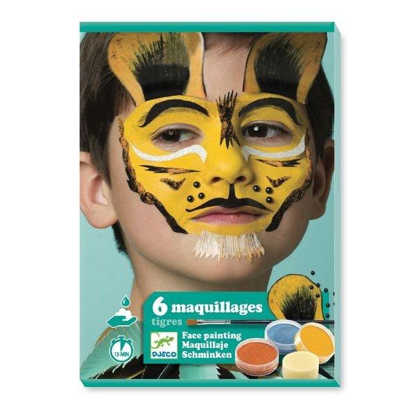 coffret maquillage tigre djeco