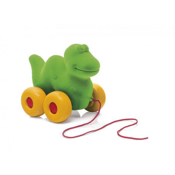 Dinosaure à tirer jouet enfant