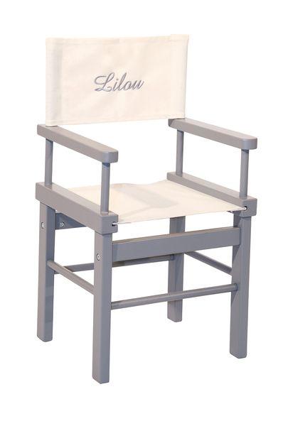 Chaise de cinéma pour enfant avec leur prénom