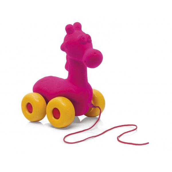Girafe à tirer jouet enfant et bébé
