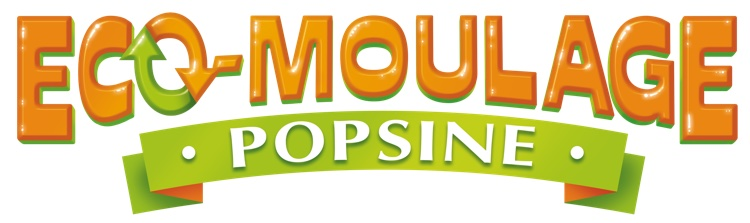 Eco-moulage Popsine