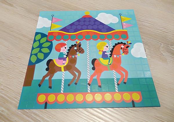Gommettes de couleurs pour enfants