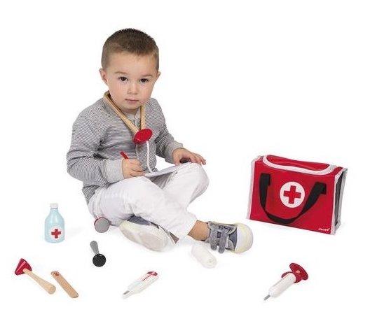 Accessoires pour jouer au docteur