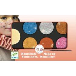 maquillage palette métal djeco