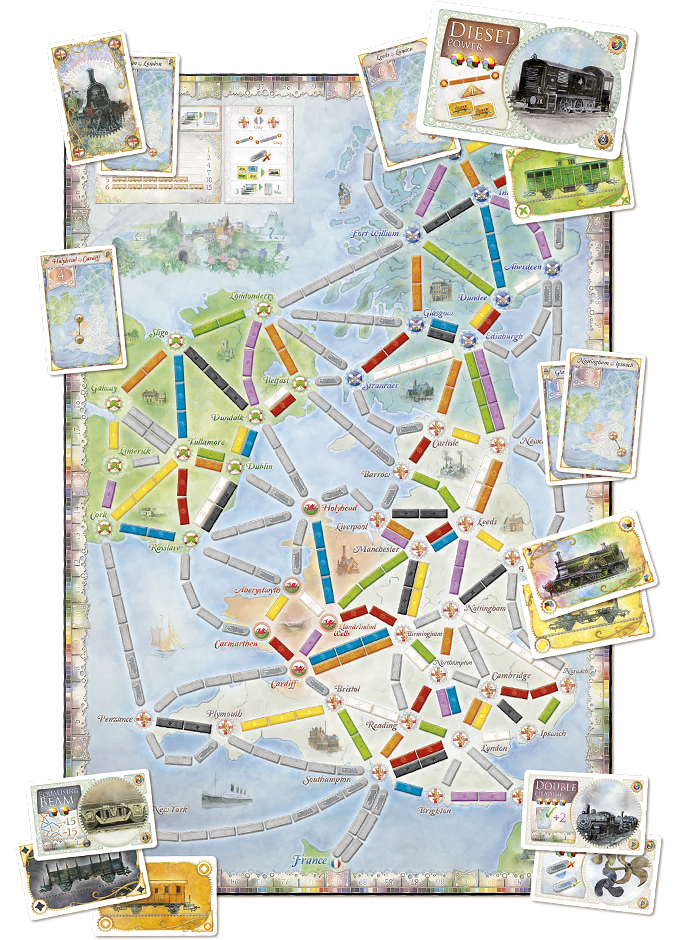 plateau aventuriers du rail royaume uni