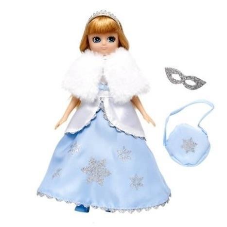 Poupée reine des neiges robe de princesse