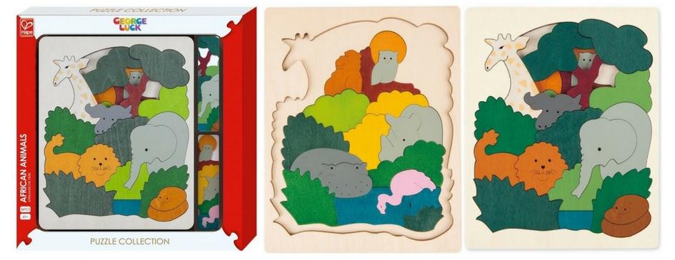 Puzzle en bois original pour enfant