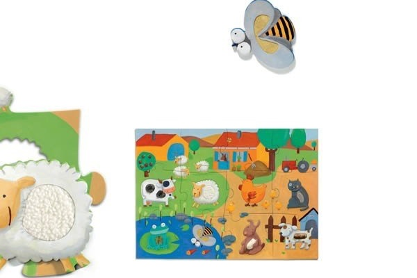puzzle tactiloferme djeco