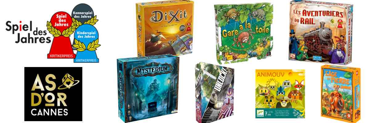 Notre sélection des meilleurs jeux enfants et adultes