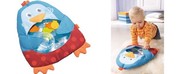 tapis d'éveil aquatique petit pingouin haba