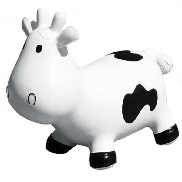 betsy la vache sauteuse blanche ballon sauteur enfant. Black Bedroom Furniture Sets. Home Design Ideas