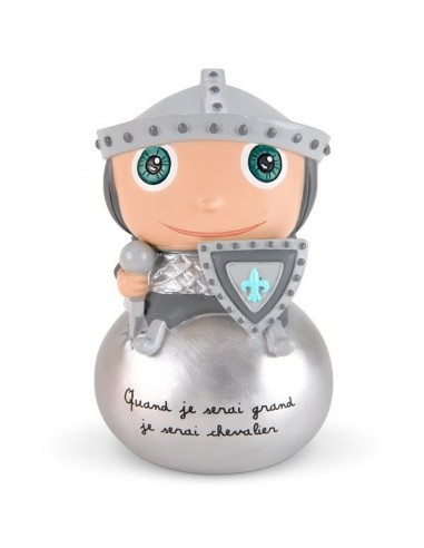 Tirelire chevalier - Quand je serai...