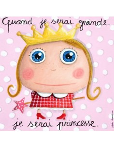 Tableau princesse - Quand...