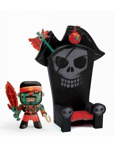 Figurine Kyle & Ze trone pirate arty...