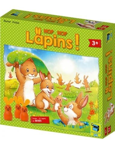 Hop Hop lapins - jeu de couleurs