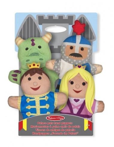 Marionnettes prince et princesse -...