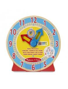 Horloge éducative - Mélissa...