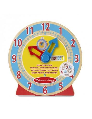 Horloge éducative - Mélissa & Doug