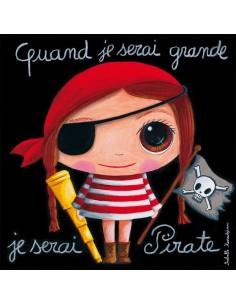 Tableau pirate fille