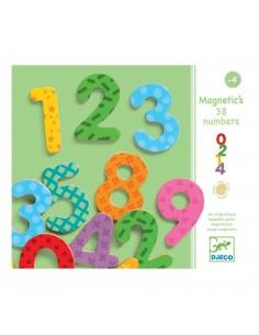 38 nombres magnétiques - Djeco