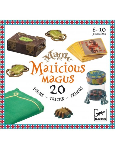 Malicious magus 20 tours de magie -...