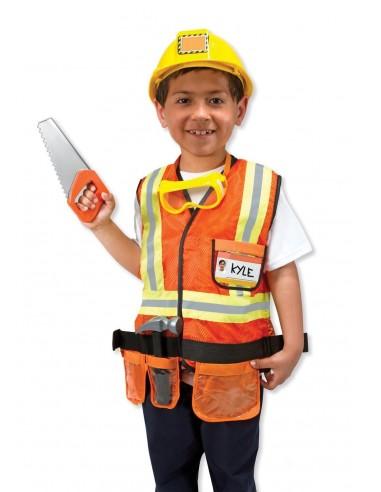 Déguisement chef de chantier -...