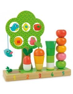 Jeu j'apprends à compter les légumes