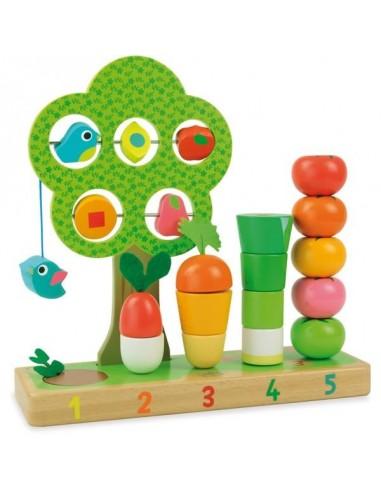 Jeu j'apprends à compter les légumes...