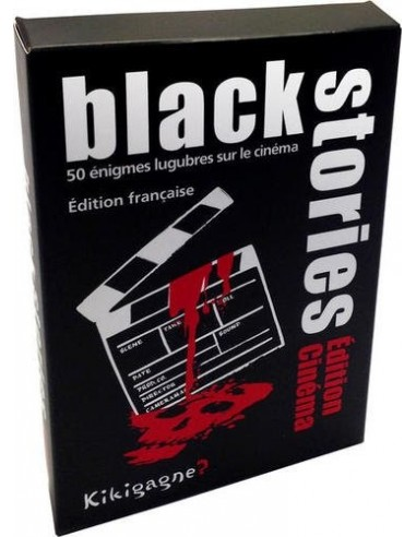 Jeu d'énigme Black Stories cinema