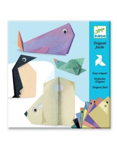 Origami les animaux polaires - Djeco