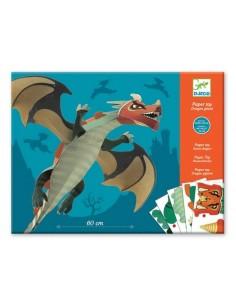 Dragon géant paper toys
