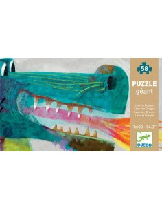 Puzzle géant Léon le dragon...