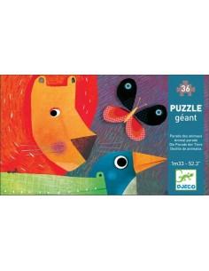Puzzle géant la parade des animaux