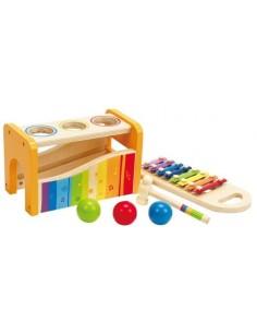 Banc à marteler xylophone -...