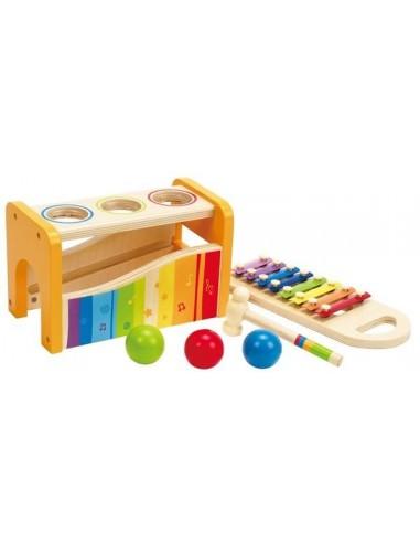 Banc à marteler xylophone - Hape