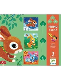 Primo puzzle les lapins