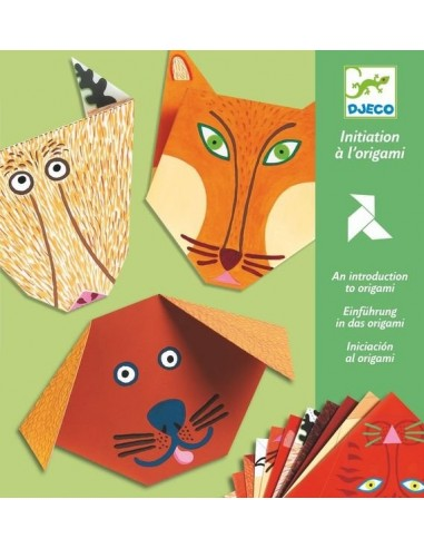 Initiation à l'origami animaux - Djeco