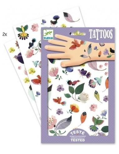 Tatouages envolée - Djeco