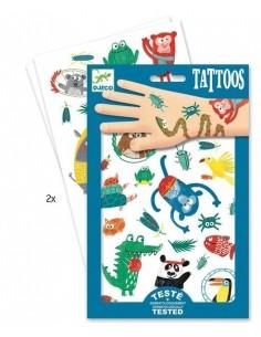 Tatouages museaux - Djeco