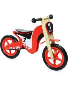 Draisienne moto en bois
